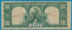 $10. 1901 Fr. 122 Bison Legal Tender Red Seal United States Note