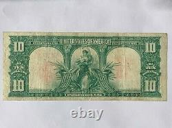 $10 1901 Legal Tender Bison Note Very Fine SPEELMAN AND WHITE Fr. 122