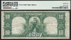 $10 1901 Legal Tender RARE BISON Fr. 122 Speelman-White sigs PMG VF 25 EPQ