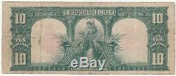 1901 $10 Bison Large United States Note Free S/H After 1st Item