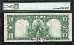 1901 $10 LEGAL TENDER BISON NOTE PMG 35 Fr 122 E59847445