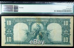 1901 $10 Legal Tender Bison Note PMG 35 FR# 116 Vernon/Treat