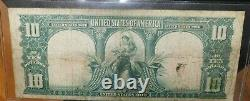 1901 $10 Legal Tender Bison Note large size note