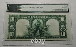 1901 $10 Legal Tender Note BISON Fr 119 PMG 30 Very Fine