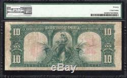 1901 $10 Legal Tender Note BISON PMG 20 Fr 122 E50739783