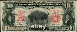 1901 $10 Ten Dollar Bison United States Note Fr#121