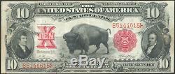 1901 $10 Ten Dollar Buffalo Bison United States Note Fr#116