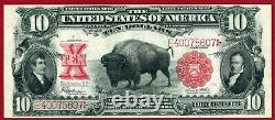 1901 $10 United States Legal Tender Note AKA Bison or Buffalo FR-122 PCGS PPQ