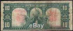 1901 Ten Dollar $10 Bison United States Note Fr#122