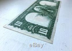 1901 United States $10 Ten Dollar Bison Note Red Seal Legal Tender Fr. 121 Mule