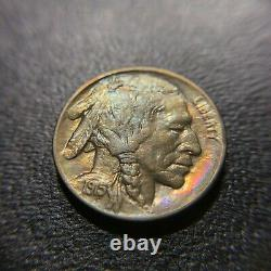 1915 D Buffalo Nickel GEM BU Brilliant Uncirculated UNC MS Indian Head Bison 5c
