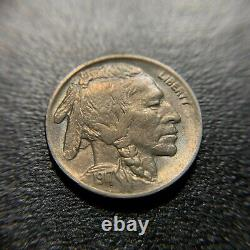 1917 D Buffalo Nickel BU Brilliant Uncirculated UNC MS Indian Head Bison 5c