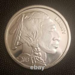 20 Coin Roll 2013 Buffalo 1 Troy Ounce. 999 Silver Rounds Mint Bullion Bison