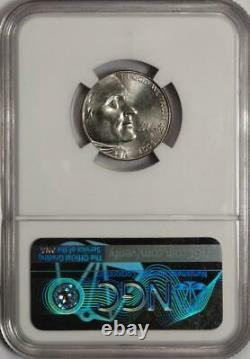 2005 D NGC MS65 Speared Bison Nickel Mint Error Very Rare Variety