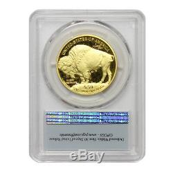 2017-W $50 American Gold Buffalo PCGS PR70DCAM FS First Strike Bison with OGP