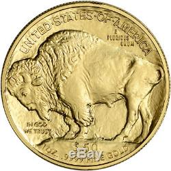 2018 American Gold Buffalo (1 oz) $50 NGC MS70 Early Releases Bison Label