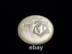 5 oz. 999 Fine Silver Round Cov-19 Bison Bullion Lot#Z869