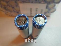 50 Bank Wrapped UNC Rolls 2005 D Westward Journey Bison Buffalo Nickels $100 FV