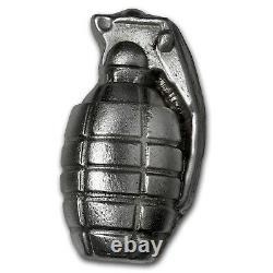 6 oz Silver Grenade Bison Bullion (Big Boom!) SKU #117374