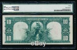 AC Fr 114 1901 $10 Legal Tender PMG 40. BISON