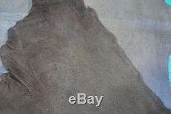 Bison Leather Skin Size 96X 27 Top Grain A Grade American Bison Leather E-814