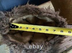 Buffalo Beanie Fur hat authentic American Bison USA RRL