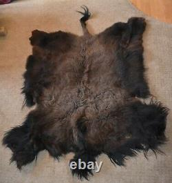 Buffalo, Bison Robe 80'x58', Buffalo Hide, very soft / pristine condition