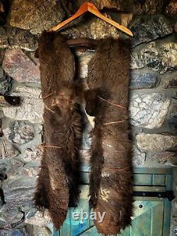 Curly Bison Buffalo Wooly Cowboy Cowgirl CHAPS Handmade L-XL Yosemite