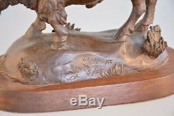 David Densmore Cast Bronze Sculpture Old West Buffalo / Bison Sedona, AZ