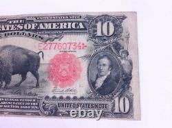 Decent 1901 $10 Ten Dollar Buffalo Bison United States Note Currency. BUY NOW