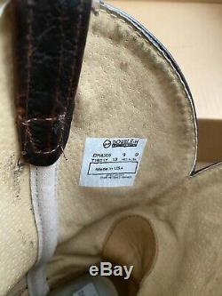Double H DH4305 Graham American Bison Square Toe Roper 9D