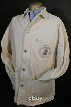 EUC! Vtg Polo Country Ralph Lauren Chore Jacket Little Wolf Milling Utah Bison
