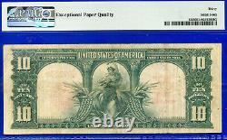 FR-122 1901 $10 US Note (Legal Tender Bison) PMG 30EPQ # E46697334
