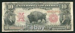 Fr. 114 1901 $10 Ten Dollars Bison Legal Tender United States Note