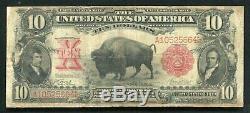 Fr. 115 1901 $10 Ten Dollars Bison Legal Tender United States Note