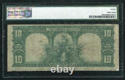 Fr. 116 1901 $10 Ten Dollars Bison Legal Tender United States Note Pmg Fine-12