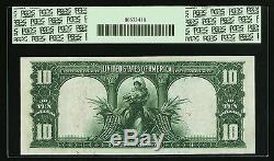 Fr. 117 1901 $10 Ten Dollars Bison Legal Tender Pcgs Au-55