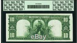 Fr. 119 $10 1901 LEGAL TENDER BISON GEM NEW 66PPQ- REMARKABLE! Nicest 1 Ever