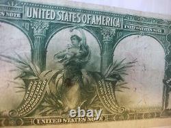 Fr. 119 1901 $10 Bison United States Note Parker/Burke. Red seal