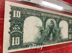 Fr. 119 1901 10 Dollar Legal Tender Bison PMG 58EPQ Star Designation