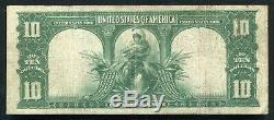 Fr. 119 1901 $10 Ten Dollars Bison Legal Tender United States Note Very Fine