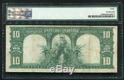 Fr. 120 1901 $10 Ten Dollars Bison Legal Tender United States Note Pmg Vf-30