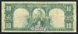 Fr. 120 1901 $10 Ten Dollars Bison Legal Tender United States Note Very Fine