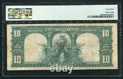 Fr. 122 1901 $10 Ten Dollars Bison Legal Tender United States Note Pmg Vf-25