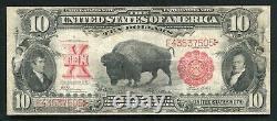Fr. 122 1901 $10 Ten Dollars Bison Legal Tender United States Note Very Fine