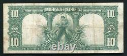 Fr. 122 1901 $10 Ten Dollars Bison Legal Tender United States Note Very Fine+