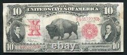 Fr. 122 1901 $10 Ten Dollars Bison Legal Tender United States Note Very Fine(e)