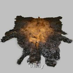 Glacier Wear First Quality Buffalo Bison Robe Hide Rug #0001