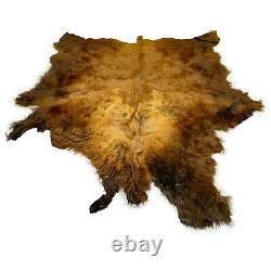 Glacier Wear First Quality Buffalo Bison Robe Hide Rug #1587