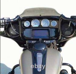 KST Kustoms Denim Satin Black 14 Bison Bagger Handlebars Bars Harley Touring